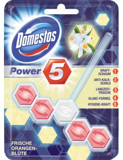 Domestos Power 5 WC-Stein frische Orangenblüte (55 g) - 8710908672620