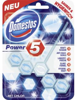 Domestos Power 5 WC Stein mit Chlor (55 g) - 8710908295119