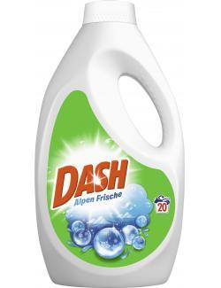 Dash Vollwaschmittel Alpen Frische