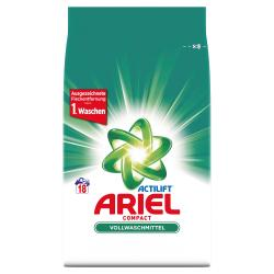 Ariel Compact Vollwaschmittel (18 WL) - 8001090346315
