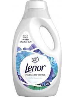 Lenor Vollwaschmittel Weiße Wasserlilie (20 WL) - 8001090314956
