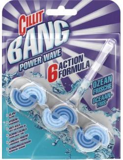 Cillit Bang Power Wave WC Spüler Blauspüler Ozeanfr