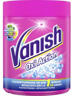 Vanish Gold Oxi Action Pink Pulver (600 g) - 4002448077565