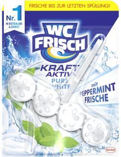 WC Frisch Kraft-Aktiv Duftspüler Pure White (50 g) - 4015000964081