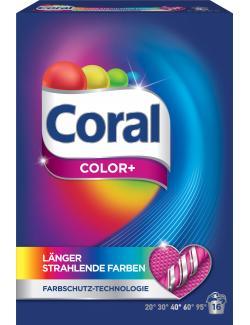 Coral Color+ Colorwaschmittel (16 WL) - 8714100141380