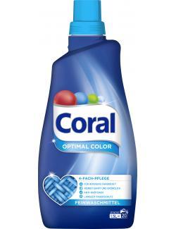 Coral Optimal Color Feinwaschmittel 20 WL (1,50 l) - 8714100246047