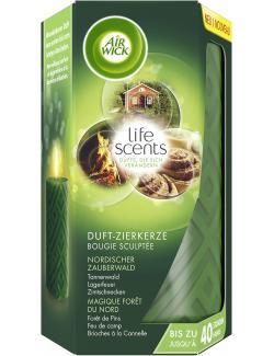 Air Wick life scents Duft-Zierkerze Zauberwald (265 g) - 4002448112976