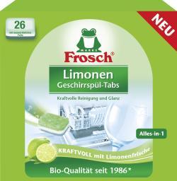 Frosch Geschirrspül Tabs Limone