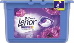 Lenor 3in1 Pods Colorwaschmittel Strahlendes Blütenbouquet