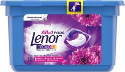 Lenor All in 1 Pods Colorwaschmittel Amethyst Blütentraum