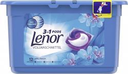 Lenor 3in1 Pods Vollwaschmittel Weiße Wasserlilie (14 WL) - 8001090552440