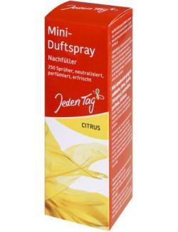Jeden Tag Mini-Duftspray Nachfüller Citrus