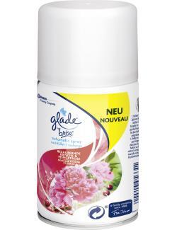 Glade by Brise Automatic Spray/Nachfüller Kirsche & Pfingstrose (269 ml) - 5000204956641