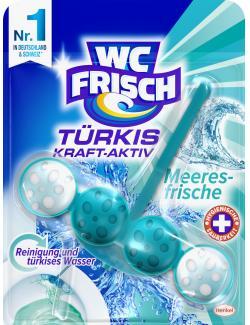 WC Frisch Kraft-Aktiv Duftspüler Türkisspüler Meeresfrische