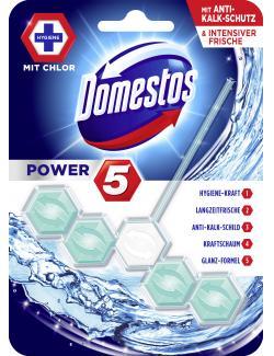 Domestos Power 5 WC-Stein mit Chlor (55 g) - 8710447279304