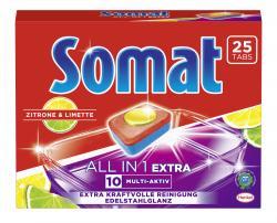 Somat 10 Multi-Aktiv All in 1 Extra Zitrone & Limette - 4015000966849