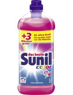 Sunil Colorwaschmittel 15 + 3 WL