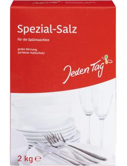 Jeden Tag Spezial-Salz für die Spülmaschine