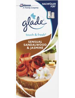 Glade Touch & Fresh Minispray Nachfüller Sensual Sandalwood & Jasmine