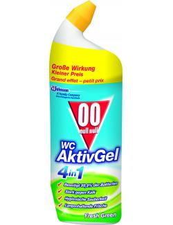 00 WC Aktiv Gel 4in1 Fresh Green