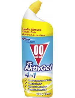 00 WC Aktiv Gel 4in1 Sunny Citrus