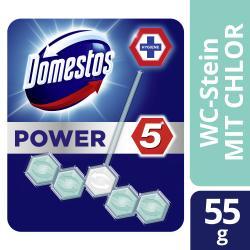 Domestos Power 5 WC-Stein mit Chlor