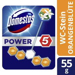 Domestos Power 5 WC-Stein Frische Orangenblüte
