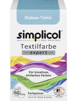 Simplicol Textilfarbe Expert Südsee Türkis