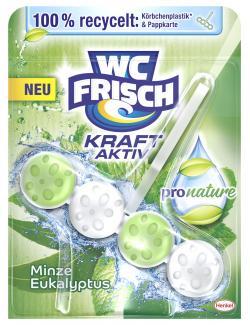 WC-Frisch Kraft Aktiv Pro Nature Minze & Eukalyptus