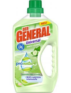 Der General Pro Nature Minze & Gurke