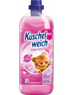 Kuschelweich Weichspüler Pink Kiss