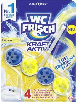 WC Frisch Kraft Aktiv Duftspüler Lemon