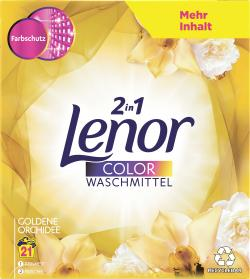 Lenor 2in1 Color Waschmittel Goldene Orchidee