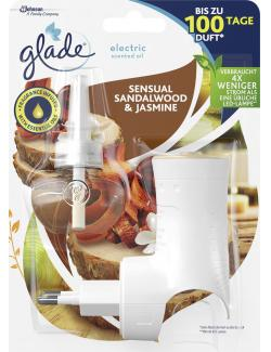 Glade Electric Scented Oil Sensual Sandalwood & Jasmine