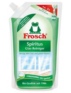 Frosch Spiritus Glas-Reiniger Nachfüller