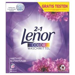Lenor Pulver Color Waschmittel Amethyst Blütentraum
