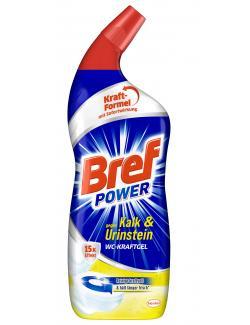Bref Power WC-Kraftgel gegen Kalk & Urinstein