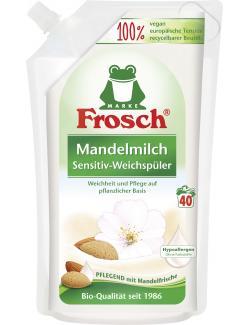 Frosch Weichspüler Sensitiv Mandelmilch