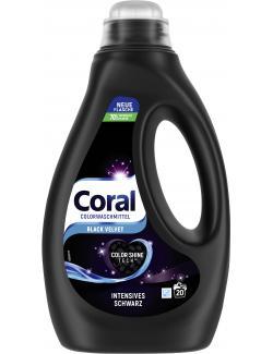 Coral Colorwaschmittel Flüssig Black Velvet Intensives Schwarz