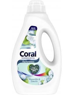 Coral Colorwaschmittel Flüssig Dufterlebnis Wasserlilie & Limette