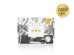 Astalea Duftstein-Set fürs Auto Flower Bouquet weiß/grau