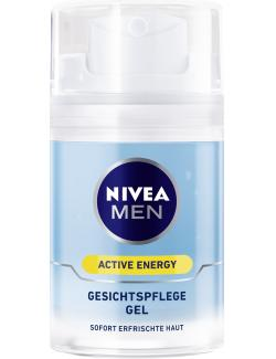 Nivea Men Active Energy Gesichtspflege Gel (50 ml) - 4005808318490