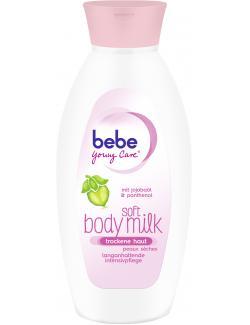 Bebe Young Care Soft Body Milk für trockene Haut (400 ml) - 3574660438628