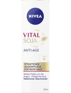 Nivea Vital Teint Optimal Anti-Age Augenpflege Soja Reife Haut (15 ml) - 4005808198719