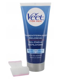 Veet For Men Haarentfernungs-Gelcreme (200 ml) - 9300631115434