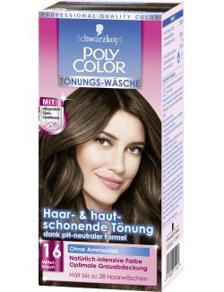 Schwarzkopf Poly Color Tönungs-Wäsche 16 mittelbraun (90 ml) - 4015000211161