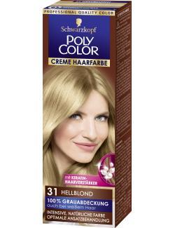 Schwarzkopf Poly Color Creme-Haarfarbe 31 hellblond (82,50 ml) - 4015000211314