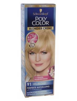 Schwarzkopf Poly Color Blondier Creme 91 hellblond (89 ml) - 4015000212915