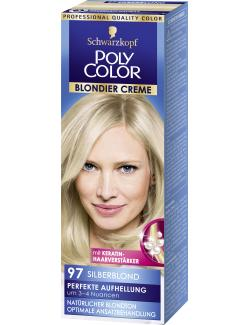 Schwarzkopf Poly Color Blondier Creme 97 silberblond (89 ml) - 4015000212977