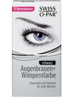 Swiss-O-Par Augenbrauen- und Wimpernfarbe schwarz (1 St.) - 4104260065307